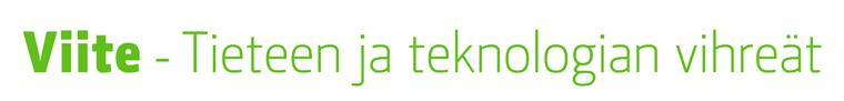 Viite - Tieteen ja teknologian vihreät ry